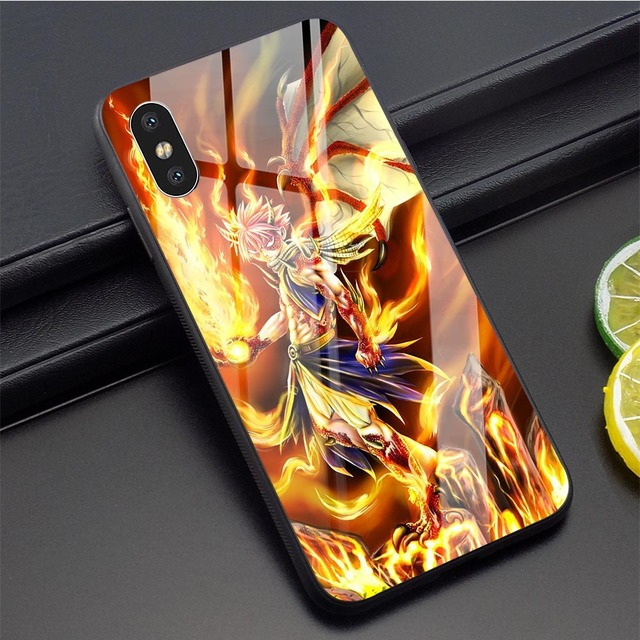 NATSU FAIRY TAIL THEMED IPHONE CASE (12 VARIAN)