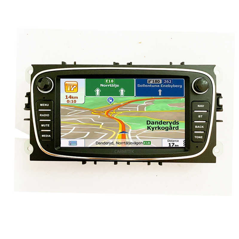 2din アンドロイドカー Dvd プレーヤー 2 Din ラジオ GPS ナビフォードフォーカスモンデオ久我 C-MAX S-MAX 銀河 2005- 2011 オーディオステレオヘッドユニット