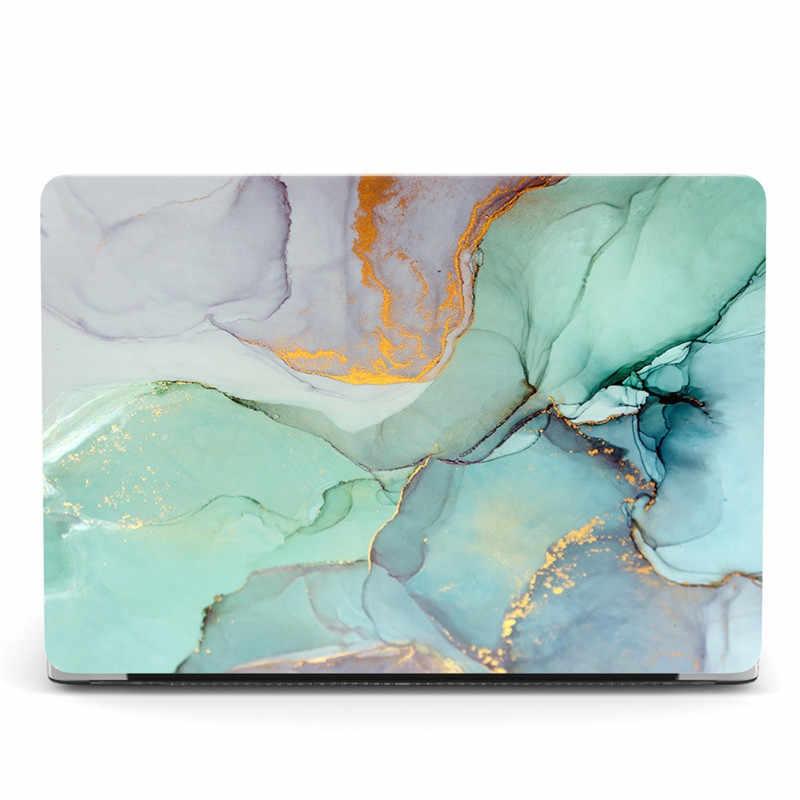 Etui na laptopa do Macbook Pro 13 A2159 A1989 A1706 A1708 marmurowa przezroczysta obudowa do Macbook Pro 13-calowy pasek dotykowy 2019 2018 2017 2016