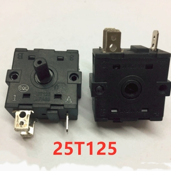 10pcs Electric heater electric oil Ding shift switch 25T125 PA66 heating switch triangle cycle gear