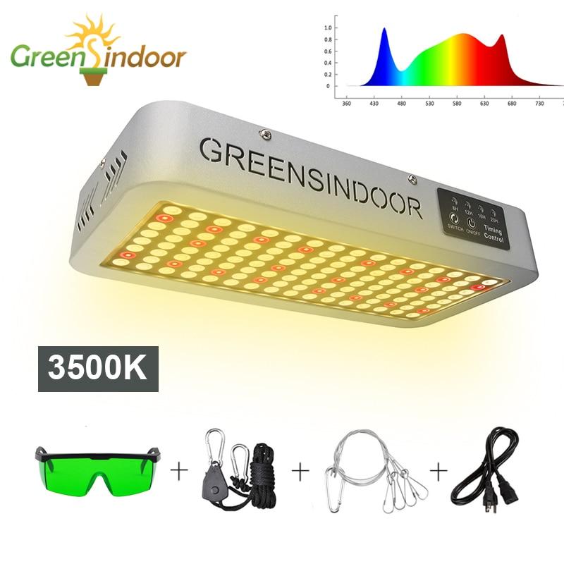 Фитолампа, светодиодная лампа полного спектра для выращивания растений, 3500 К, 3000 Вт