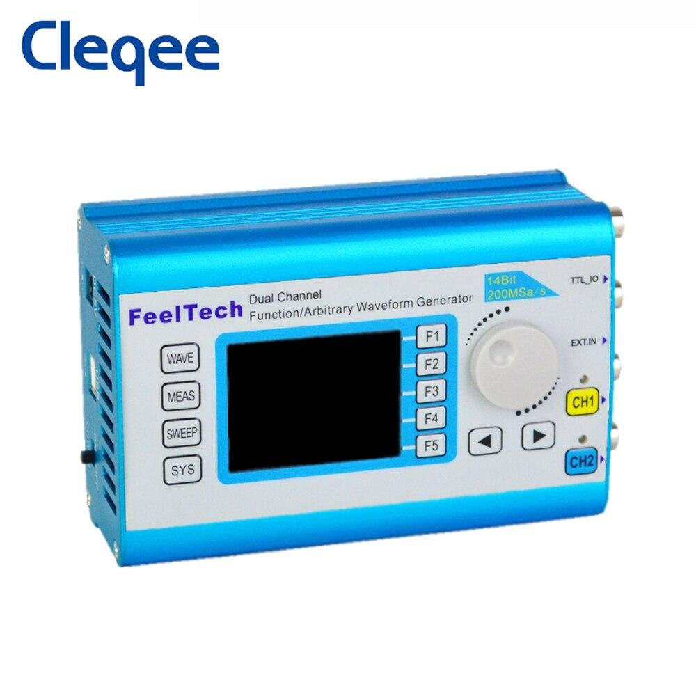 Двухканальный генератор сигналов FY2300 20 МГц DDS произвольная частота дискретизации сигналов 100 Мвыб/с МГц измеритель частоты