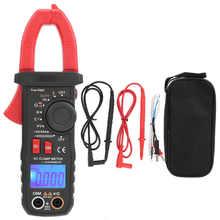 Etcr6420 digital braçadeira medidor 600v faixa automática digital ac/dc tensão true-rms testador braçadeira medidor multímetro