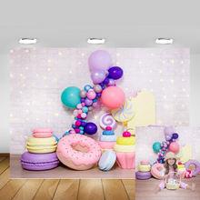 Милые Пончики для девочек день рождения вечеринка декорация