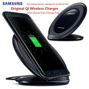 Image 4 - オリジナルサムスン S7 チーワイヤレス充電器 EP NG930 ギャラクシー S8 S9 S10 プラス Note9 iphone 8 × XR XS 最大 huawei 社メイト 20 プロ MI9