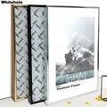 Металлическая фоторамка для настенного постера, рамка для фотографий, классические алюминиевые фоторамки для настенного подвешивания A3 A4 ...