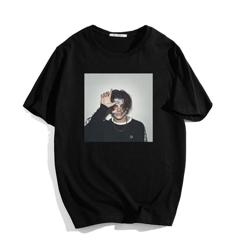 Yungblud Printed Short-sleeved Women's Men's T-shirt Unisex Short-sleeved Streetwear Fashion Harajuku Modal Men's T-shirt