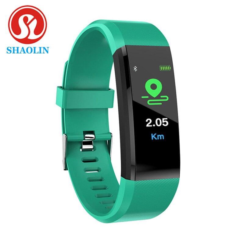Фитнес-трекер SHAOLIN, артериальное давление, водонепроницаемый наручный ремешок, браслет, смарт-браслет, часы, браслет, браслет