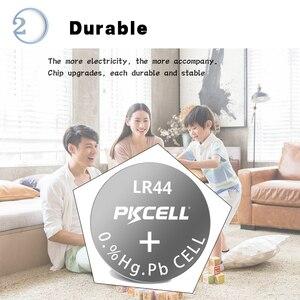 Image 3 - 2PK/20 adet PKCELL 1.5V AG13 LR44 pil SR44 L1154 357 A76 düğme piller termometre