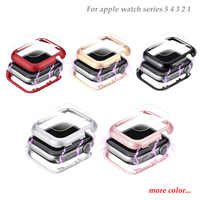 Magnetic case cover For Apple Watch case apple watch 5 4 3 clock 44 mm/42mm iwatch 5 4 3 2 1 40mm/38mm protective case bumper