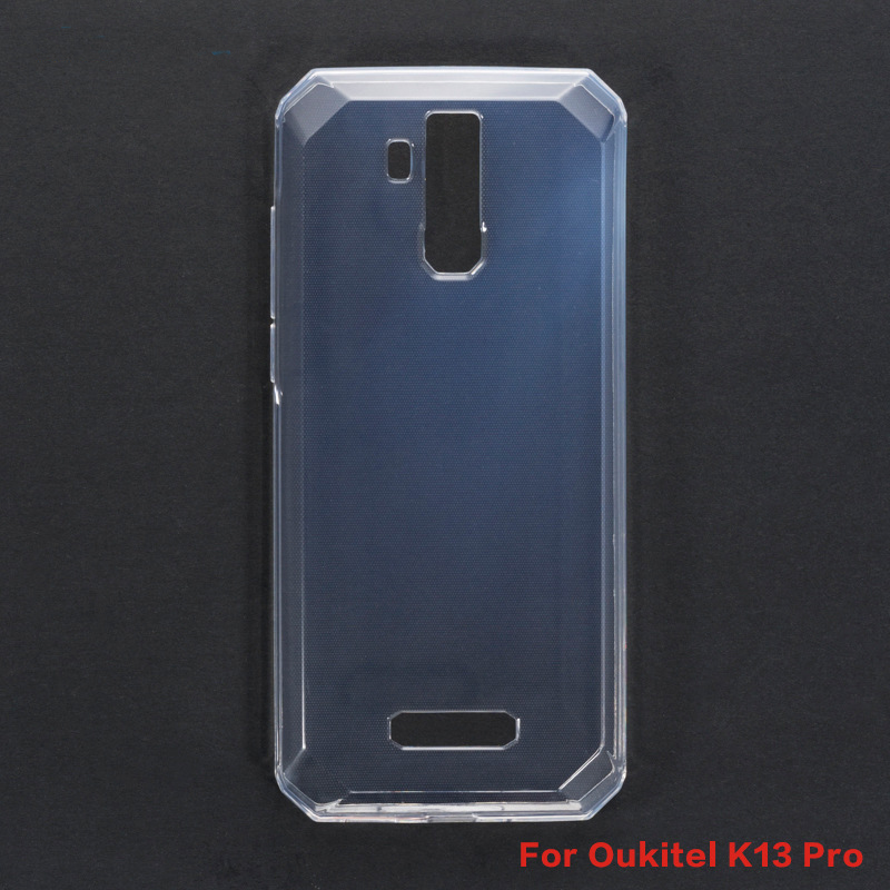 For <font><b>Oukitel</b></font> <font><b>K13</b></font> <font><b>Pro</b></font> Silicone <font><b>Case</b></font> Soft Transparent Protective Back Cover For <font><b>Oukitel</b></font> <font><b>K13</b></font> <font><b>Pro</b></font> Anti-knock Shell Phone <font><b>Case</b></font> Capa image