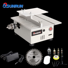 Grinder Drill-Chuck Table-Saw Model Lathe Bench Electric-Polisher Woodworking Multifunctional