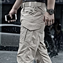 Mege Brand Tactical Work Pants for Men Summer Fast Dry Cargo Pants US Army Wide Outdoor