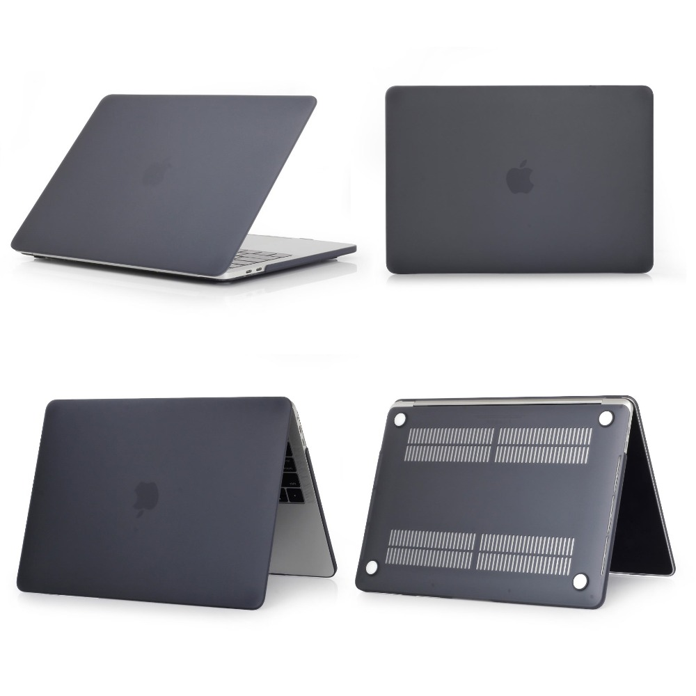 Matte Laptop Case For Macbook Pro Retina Air 11.6,2019 for <font><b>mac</b></font> Air 13,New pro 13.3 15.4 A1707 <font><b>A1708</b></font> shell <font><b>cover</b></font> image