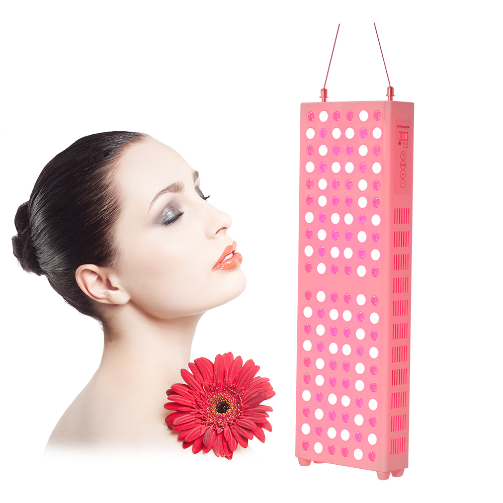 Skin Beauty Machine Red Light Therapy Panel Red/NIR Time Control Anti-aging Pain Relief Health Care