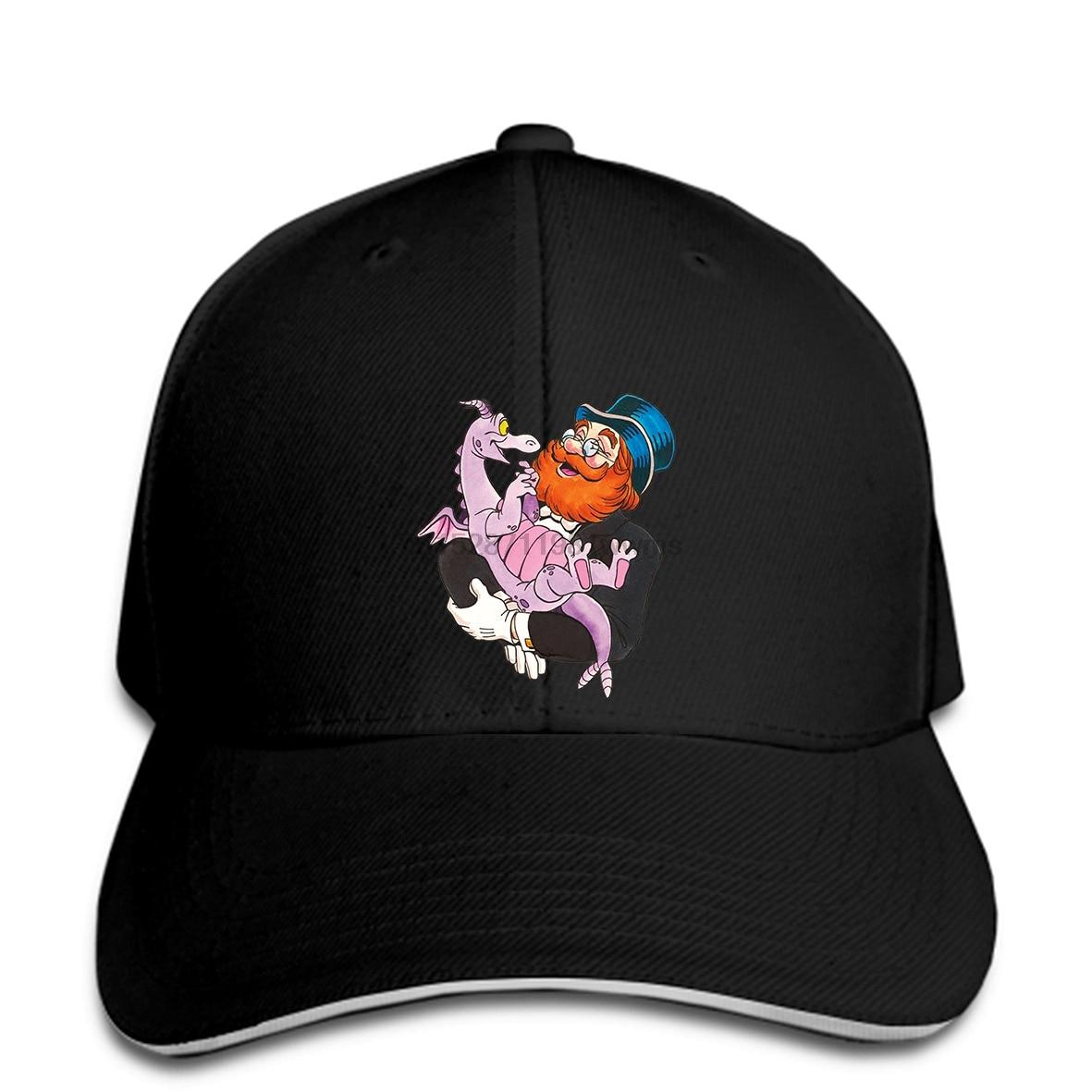 Dreamfinder and Figment Mens Baseball cap Fitness Hip Hop MenBaseball cap Super Big ZL snapback hat Peaked(China)