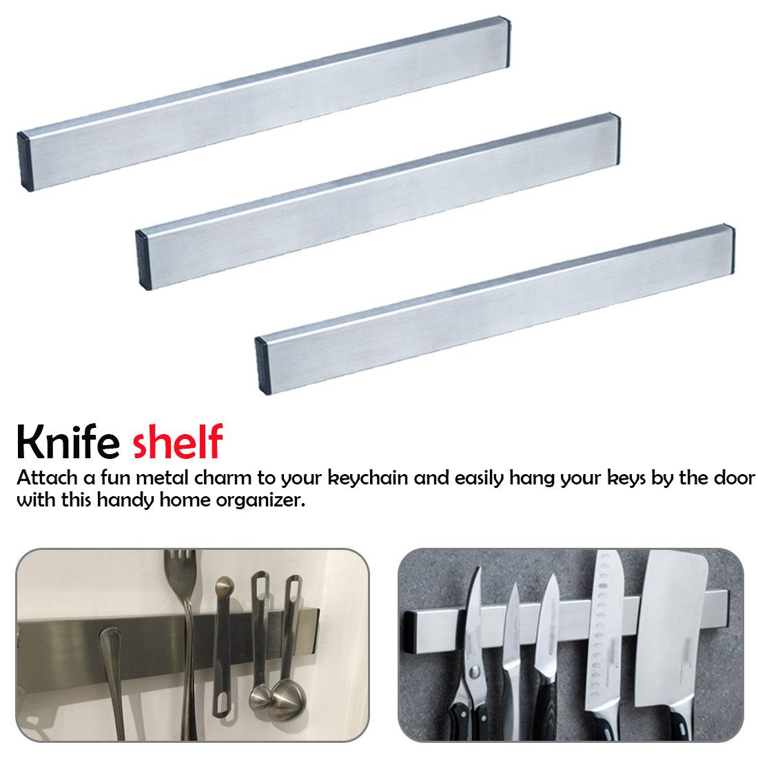 Magnetic Knife Holder Stainless Steel 304 Block Magnet Knife Holder Rack Stand For Knives Kitchen Rack Knife Holder