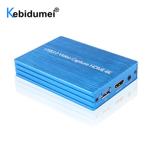 Image 1 - 4K HDMI To USB 3.0 Video Capture Card Dongle 1080P 60fps HD Video Recorder Grabber For OBS Capturing Game Game Capture Card Live
