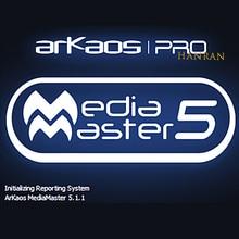 Stage light dmx software ARKAOS Mediamaster pro 5.1.1 disco light moving head light par led DJ party dmx ARKAOS 5.1.1 dongle