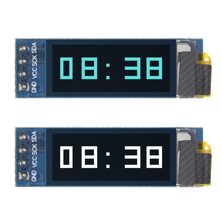 "0.91 Inch OLED Module 0.91"" White/Blue OLED 128X32 OLED LCD LED Display Module 0.91"" IIC Communicate For Arduino"