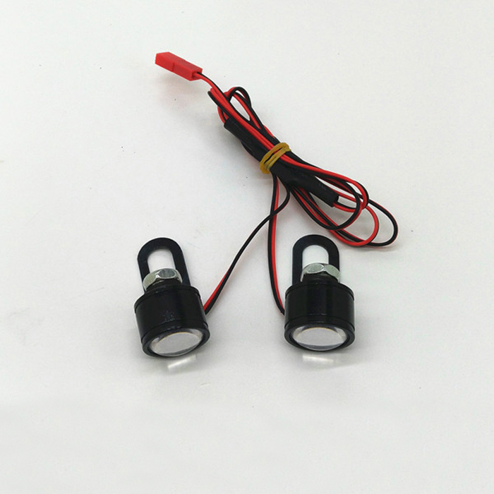 RC Big Feet Climbing Car High Bright Burst Flashing Navi Light Night Flight LED Waterproof Lamps For Radio Quadcopter Parts image
