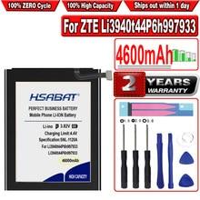 Hsabat 4600mah li3940t44p6h997933 bateria para zte li3940t44p6h997933 telefone móvel