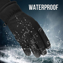 Winter Cycling Gloves Windproof Full Finger Sport Riding MTB Bike Gloves Touch Screen Non-Slip Autumn Man Woman Bicycle Gloves coolchange winter cycling gloves touch screen gel bike gloves sport shockproof mtb road full finger bicycle glove for men woman