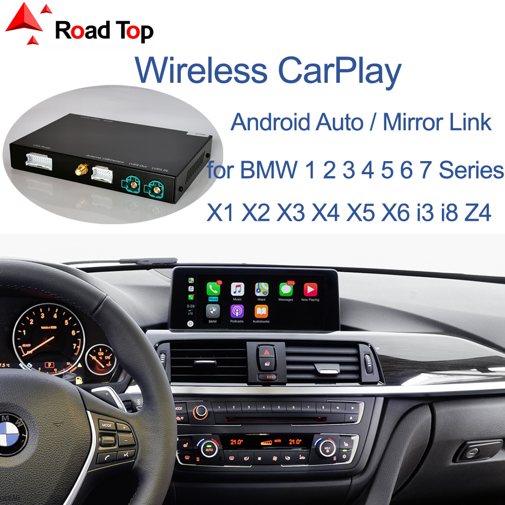 Wireless CarPlay for BMW NBT System 1 2 3 4 5 7 Series X1 X3 X4 X5 X6 MINI F56 F15 F16 F25 F26 F48 F01 F10 F11 F22 F20 F30 F32(China)