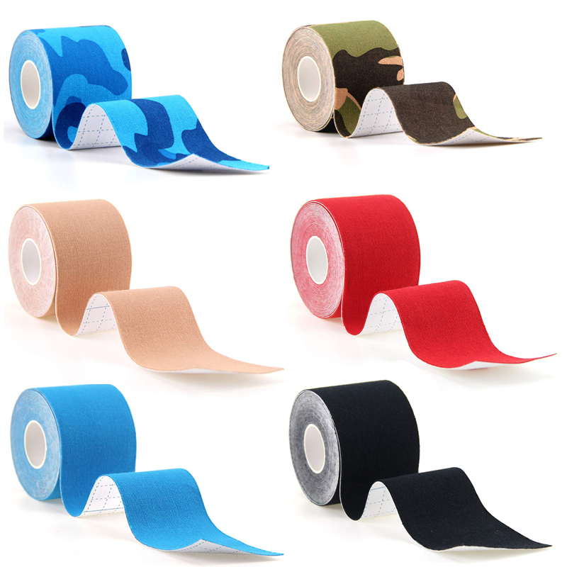 10Rolls 5cm*5m Therapeutic Sports Kinesiology Tape Waterproof Elastic Muscle Tape for Weightlifting Shoulder Knee Elbow Ankle 5