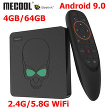 Beelink gt-king Android 9.0 TV BOX Amlogic S922X GT King 4G DDR4 64G EMMC Smart TV Box 2.4G/5G double WIFI 1000M LAN 4K Con(China)