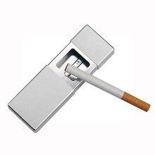 Портативная Металлическая Пепельница экологический защитный