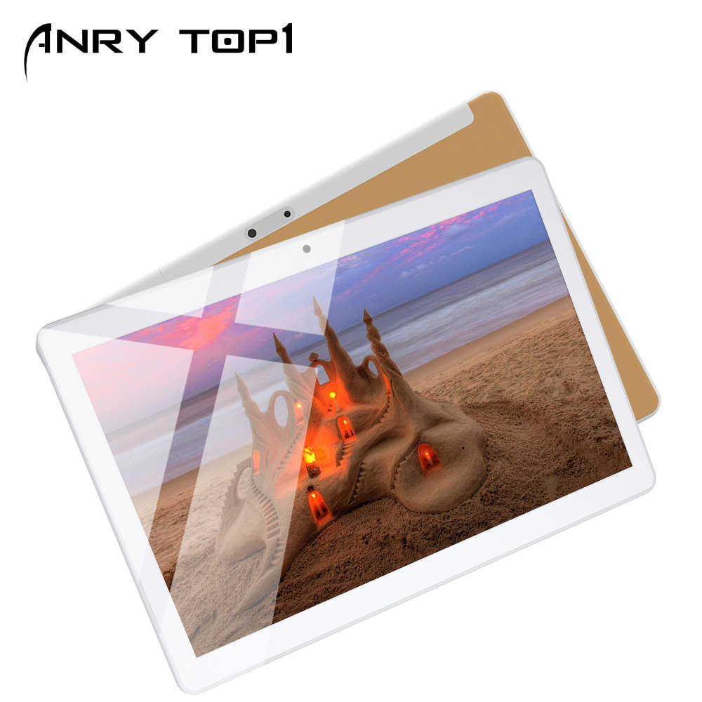 10 Inch 4G Phablet Android 7.0 Octa Core 64GB ROM 4GB RAM Call Telefoon Tablet PC Unlocked dual Sim-kaart Slots Bluetooth GPS WiFi