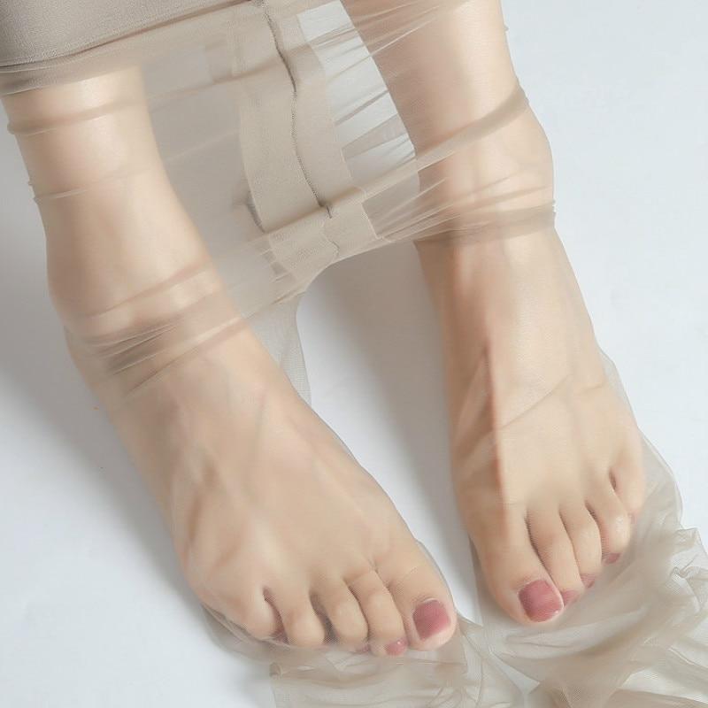 0d 고기 색깔 울트라 얇은 stockingth 얇은 보이지 않는 점프 슈트 라이트 컴플 xion 전체 투명한 발가락 t-기어 섹시한 여름 소녀