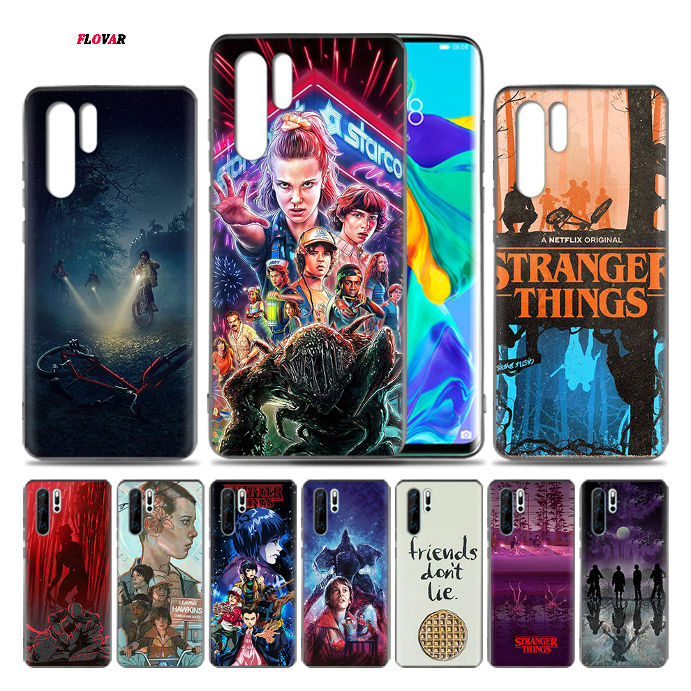 <font><b>stranger</b></font> <font><b>things</b></font> poster Tv TPU Soft <font><b>Phone</b></font> <font><b>Case</b></font> For <font><b>Huawei</b></font> <font><b>P20</b></font> P30 P9 P10 Mate 10 20 30 <font><b>Lite</b></font> Pro P Smart Plus Z 2019 2017 Cover Sh image