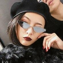 Cat Eye Sunglasses Women Men New 2020 Fashion Red Samll Sun Glasses Eyewear Vint