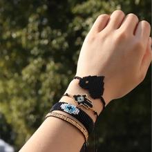 Модный браслет виноград insta «Миюки» браслеты «Хамас» мужские