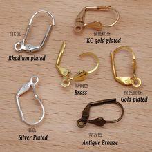 1000pcs 10x17mm french leverback earrings hooks earring clasps earring findings jewelry