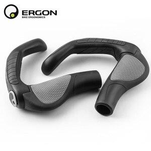 Image 5 - Uchwyty do kierownicy roweru górskiego ERGON GP1 GP3 GP5 uchwyt do mocowania roweru uchwyt do mocowania uchwytu ergonomia gumowa blokada rowerowa