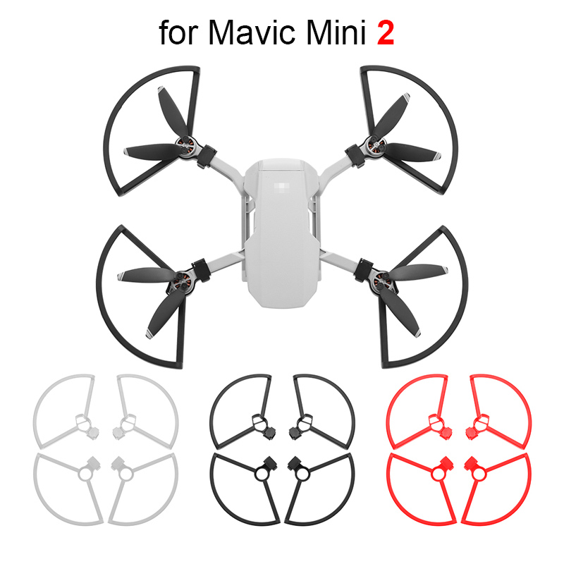 4pcs Quick Release Propeller Guard for DJI Mavic Mini 2 Drone Accessories Props Blade Protector Ring Cover Protective Kit
