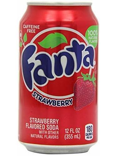Fanta Strawberry 12 Oz. (355 ML) - 24 Pack Inkl. 6,00 Euro DPG-PFAND