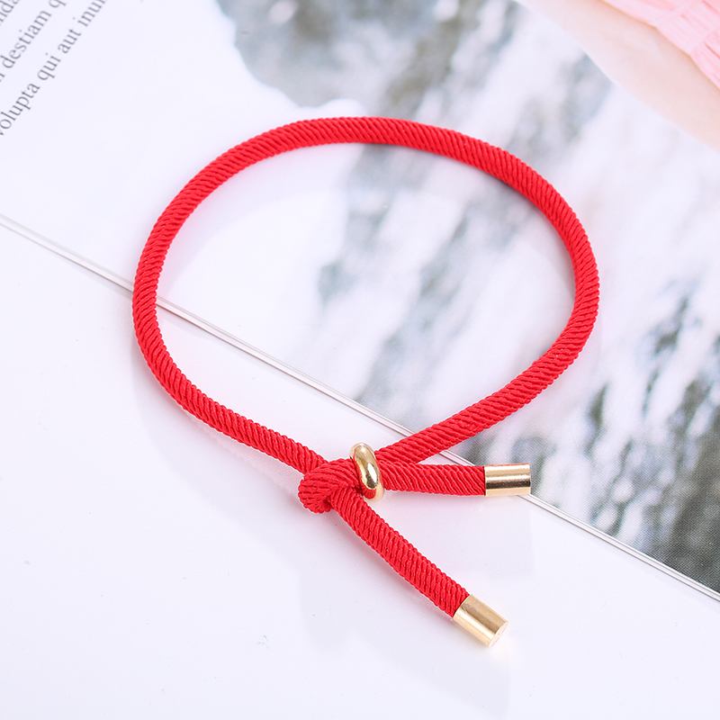 2019 New Creative Bracelets for Women and Men Simple Adjustable Rope Chain Wrist Jewelry Couple Bracelet Gifts for Lovers