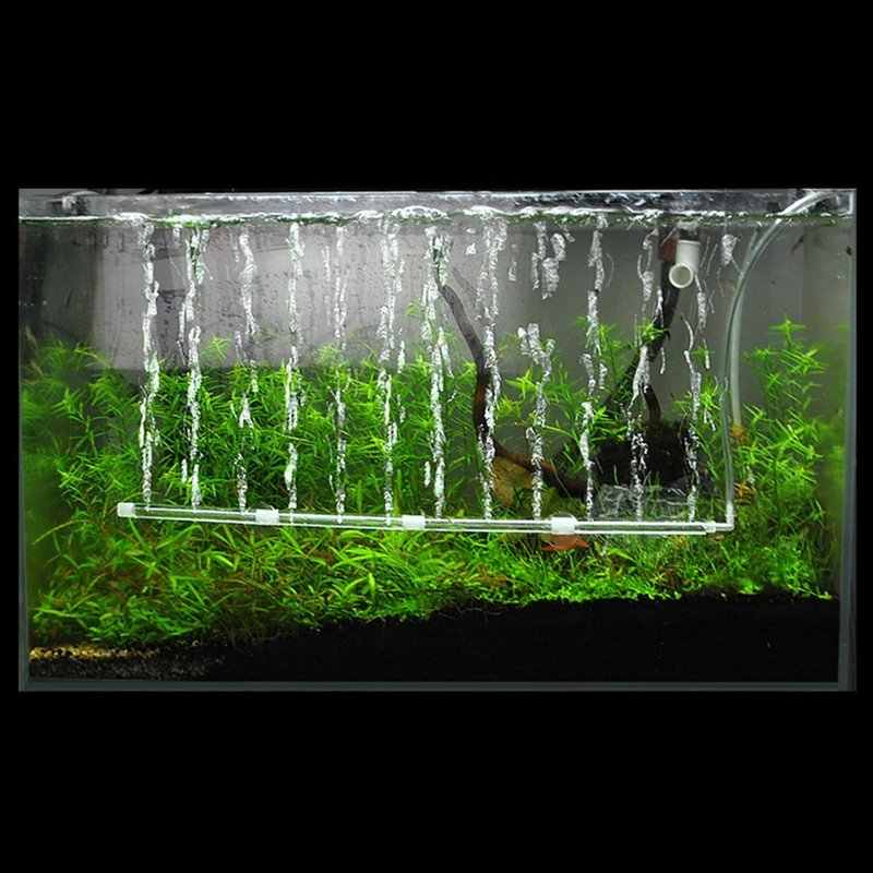 Hoge Efficiëntie Zonder Vervuiling Aquarium Aquarium Air Stone Bubble Muur Beluchting Buis Zuurstof Pomp Diffuser Luchtpomp Aquarium