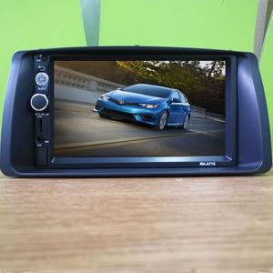 2 din Car Radio multimedialny odtwarzacz wideo lustro Link dla Toyota Corolla 2003-2006 otoczony zestaw paneli wykończenia Android 8.1 Player