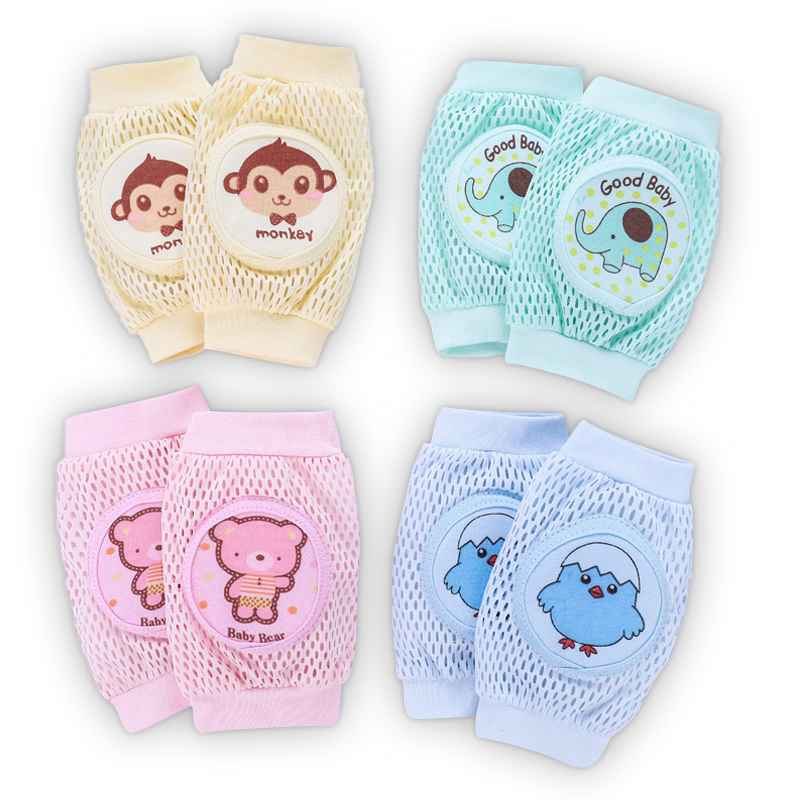 Baby Leg Cover Cute Cartoon Animal Knee Pads To Prevent Knock Against Knee Pad Mesh Elbow Pads For Boys And Girls'