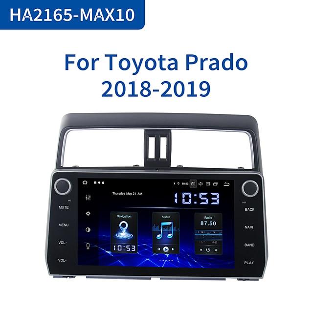 "Dasaita Car Radio DSP Android 10.0 for Toyota New Prado Navigation 2018 Autoradio GPS 10.2"" IPS Multi Touch Screen MAX10"