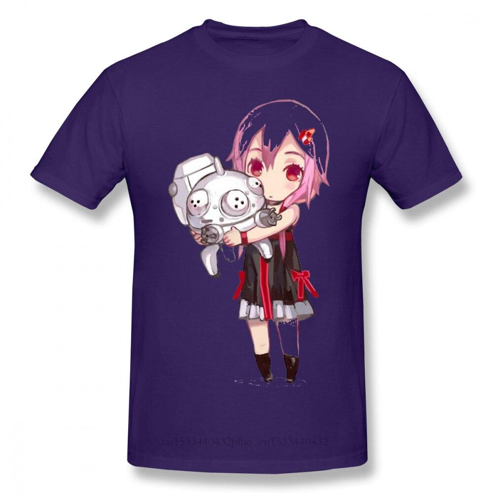 2020 cotton T-shirt de algodão puro do chibi de waifu do inori t de algodão