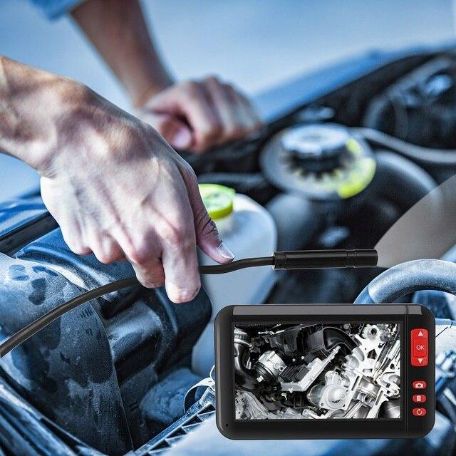 Automotive Endoscoop Industriële Endoscoop Waterdichte Sonde Automotive Revisie Pijplijn Voertuig Interne Detector Snake Camera