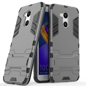 for Honor 6 C pro Case for Huawei Honor 6C pro Shockproof Armor Rubber Hybrid Hard Case Cover Bumper on(China)