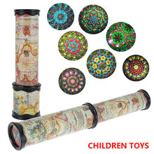 21/30cm Scalable Rotation Kaleidoscope Fancy World Baby Toys Magic Changeful Adjustable Toy for Children Autism Kid Puzzle Gift