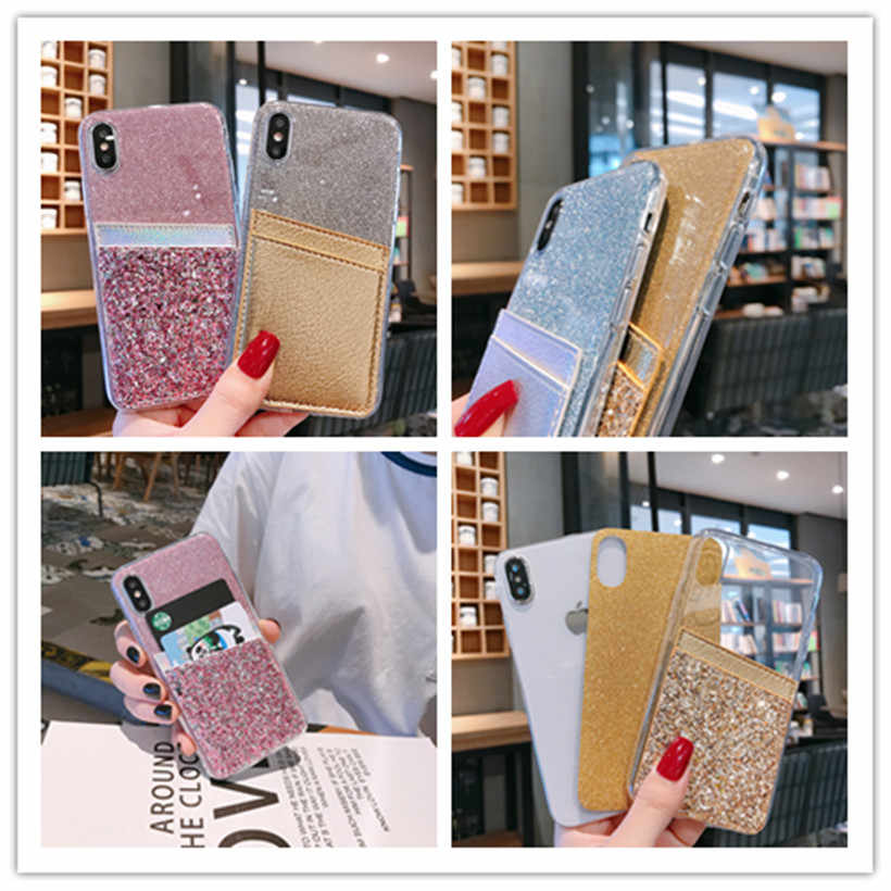 Portemonnee Glitter Case Voor Xiaomi Redmi 6 A2 6A 7 Y3 Note 4(4X) 5 5A Y1 6 7 K20 Pro Lite S2 Y2 Pocophone F1 7A Covers